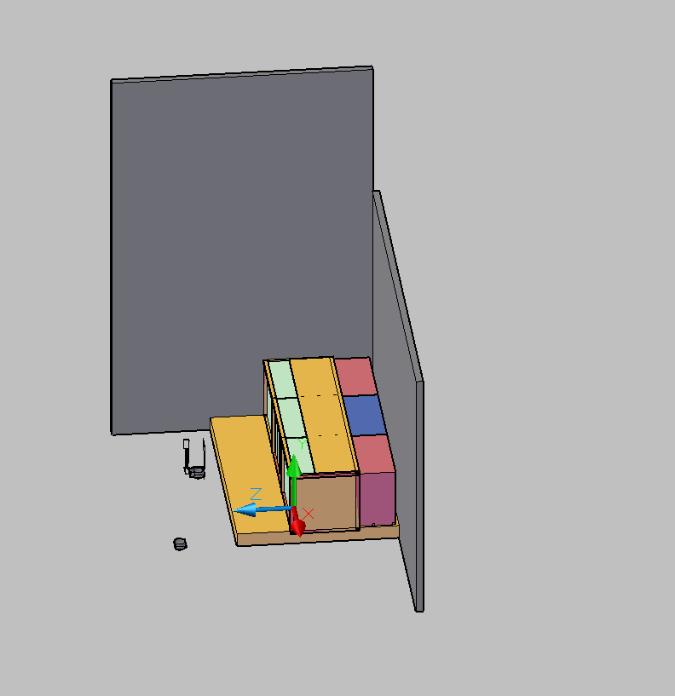 AutoCAD Low Complexity Scene
