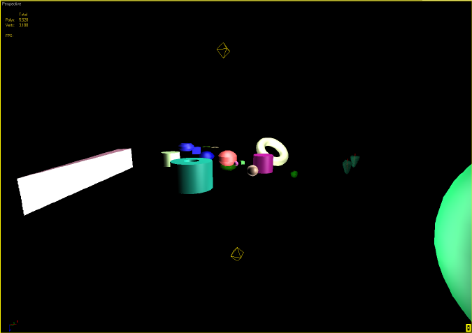 3DSMax Low Complexity Scene
